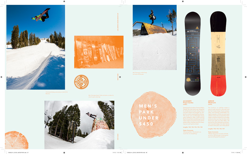 Transworld Snowboarding Gear Guide 2014