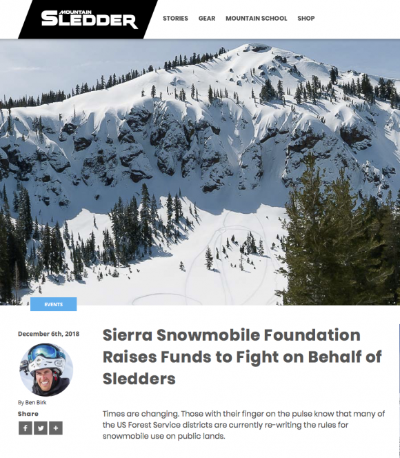 Sierra Snowmobile Foundation